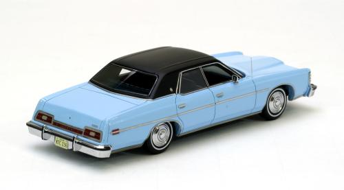 Ford LTD 1973 Blauw/Zwart 1-43 Neo Scale models