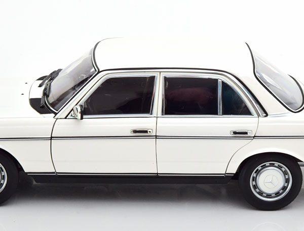 Mercedes-Benz 200 ( W123 ) Limousine 1982 Wit 1-18 Norev Limited 1000 Pieces