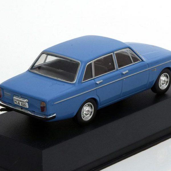 Volvo 144S Limousine 1967 Blauw 1-43 Triple 9 Collection