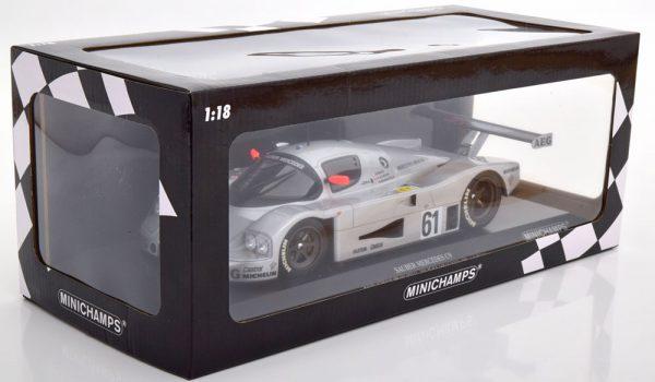 Mercedes-Sauber C9 No.61, 24h Le Mans 1989 Baldi/Acheson/Brancatelli 1-18 Minichamps Limited 402 Pieces