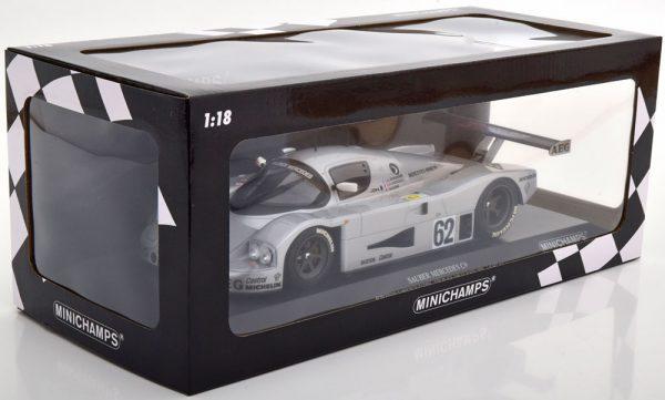Mercedes-Benz Sauber C9 No.62, 24h Le Mans 1989 Schlesser/Jabouille/Cudini 1-18 Minichamps Limited 402 Pieces