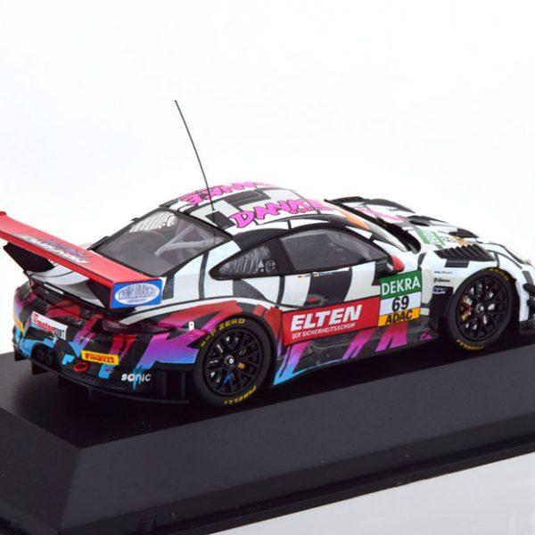 Porsche 911 (991) GT3 R No.69, ADAC GT Masters 2018 Hockenheim Slooten/Luhr 1-43 CMR Models