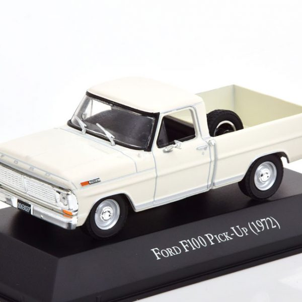 Ford F100 Pick Up 1972 Wit 1-43 Altaya
