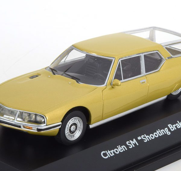 Citroen SM Shooting Break 1970 Goud Metallic 1-43 Schuco Pro.R Limited 500 Pieces
