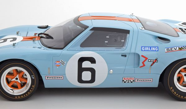 "Ford GT40 Winner 24Hrs Le Mans 1969 ""Gulf"" Ickx/Oliver 1-12 CMR Models"
