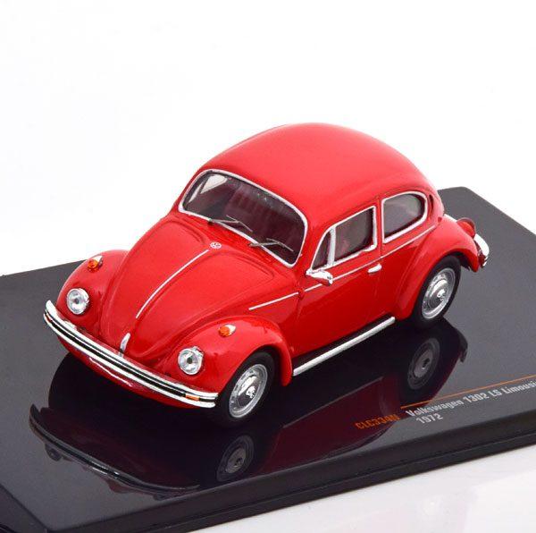 Volkswagen Kever 1302 LS 1972 Rood 1-43 Ixo Models