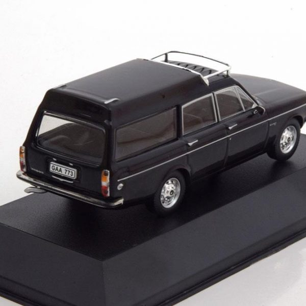 Volvo 145 Express 1969 Zwart 1-43 Triple 9 Collection Limited 1008 Pieces