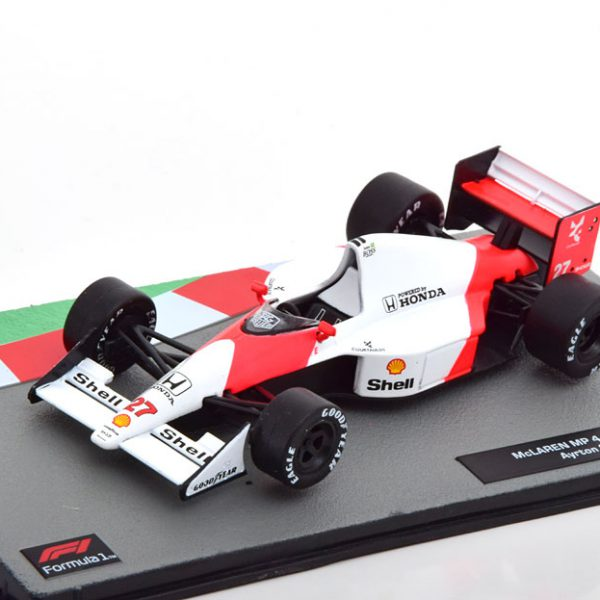 McLaren Honda MP4/5B 1990 World Champion Aryton Senna 1-43 Altaya F1 Collection