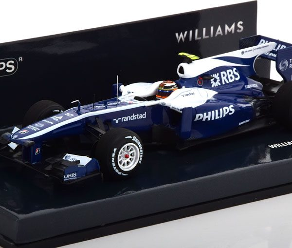 Williams Cosworth FW32 2010 N.Hülkenberg 1-43 Minichamps Limited 330 Pieces
