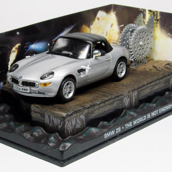 "BMW Z8 James Bond ""The World is Not Enough"" Altaya James Bond 007 Collection"