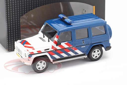 Mercedes-Benz G-Klasse Militaire Politie Nederland 1:43 Cararam