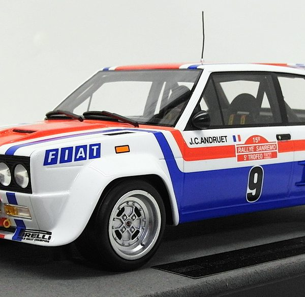 Fiat 131 Abarth Nr# 9 Winner San Remo 1977 J.C.Andruet 1-18 Top Marques