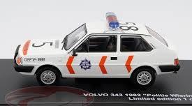 Volvo 343 1982 Nederlandse Politie Wieringerwerf 1-43 Triple 9 Collection Limited 504 Pieces