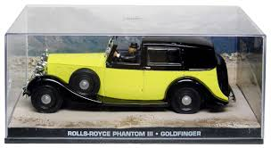 "Rolls-Royce Phantom III James Bond ""Goldfinger"" 1-43 Altaya James Bond 007 Collection"