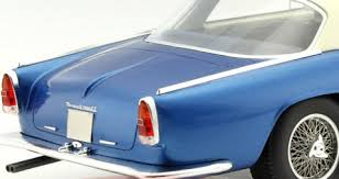Maserati 3500 GT Touring Blue Metallic /White Roof 1:18 BOS Models Limited 1000 Pieces