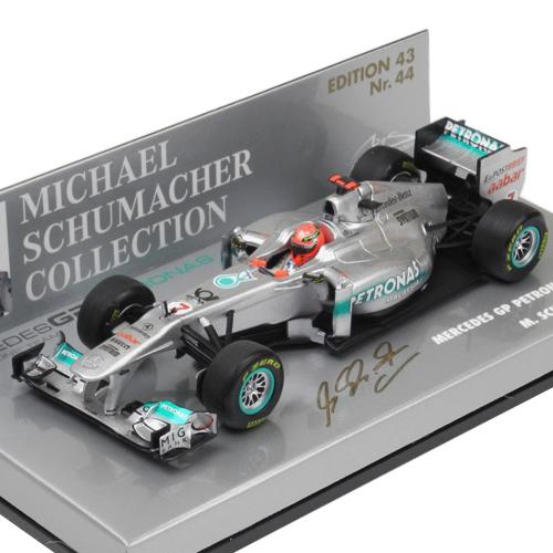 Mercedes Petronas F1 Team MGP W02 GP 2011 M.Schumacher 1-43 Minichamps