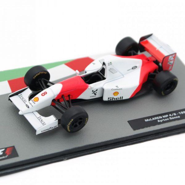 McLaren MP 4/8 1993 Aryton Senna 1-43 Altaya F1 Collection