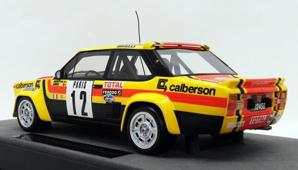 "Fiat 131 Abarth Nr# 12 ""Calberson""Rally Monte Carlo Mouton - Annie 1-18 Top Marques"
