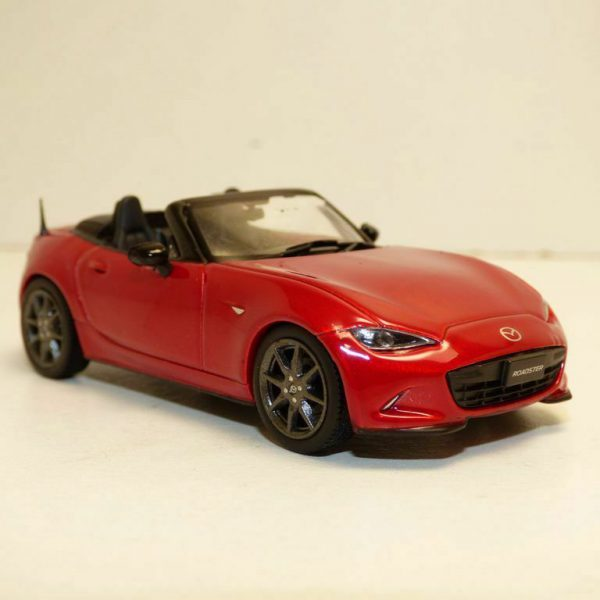 Mazda MX-5 2015 Open Rood Metallic 1-43 First 43 Models