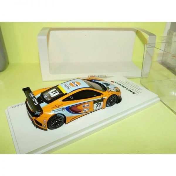 "McLaren MP4-12C GT3 #21 Macau GP 2011 3rd Place 2011 ""Gulf"" Danny Watts 1-43 True Scale Miniatures"