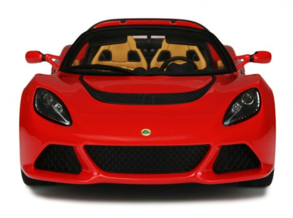 Lotus Exige S3 Roadster Rood 1-18 GT Spirit Limited 1000 Pieces