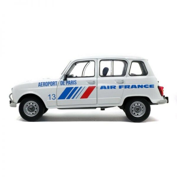 "Renault 4L GTL ""Air France"" 1978 Wit 1/18 Solido"