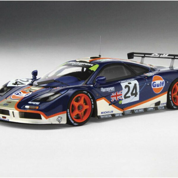 "Mclaren F1 Gtr #24 4Th Place 24Hrs Le Mans 1995 ""Gulf"" 1-43 True Scale Miniatures"