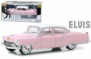 "Cadillac Fleetwood 1955 ""Series 60"" Elvis Presley Pink 1:24 Greenlight Collectibles"