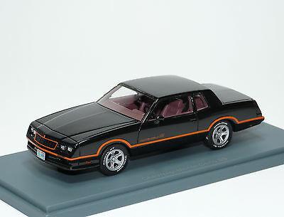 Chevrolet Monte Carlo SS 1986 Zwart 1-43 Neo Scale models