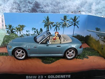 "BMW Z3 James Bond ""Goldeneye"" 1-43 Altaya James Bond 007 Collection"