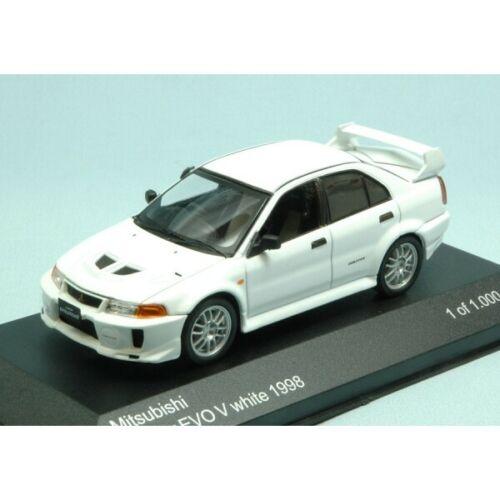 Mitsubishi Lancer Evo V 1998 White 1:43 Whitebox Limited 1000 Pieces
