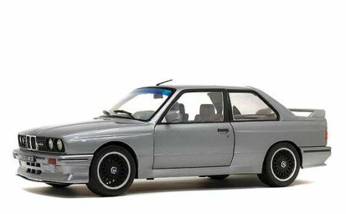 BMW M3 E30 1990 Silver 1/18 Solido