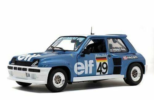 Renault 5 Turbo #49 European Cup 81 Walter Rohrl Blauw 1-18 Solido