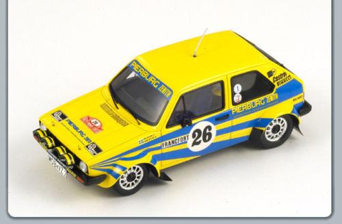 Volkswagen Golf I GTI #26 5th Monte Carlo Rally 1980 P.Eklund / H.Sylvan 1-43 Spark