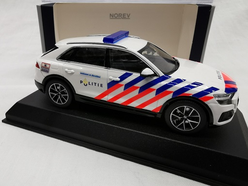 Audi Q8 2018 ( Nederlandse Politie Omgebouwd ) 1-43 Norev