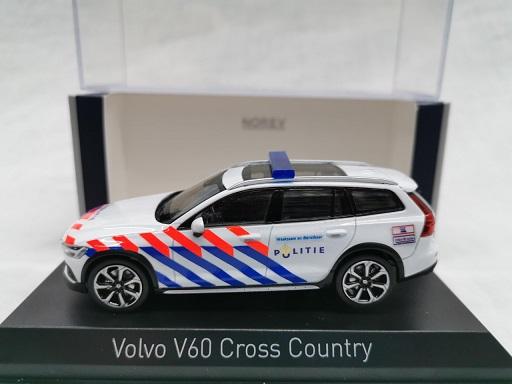 Volvo V60 Cross Country 2019 ( Nederlandse Politie omgebouwd )1-43 Norev