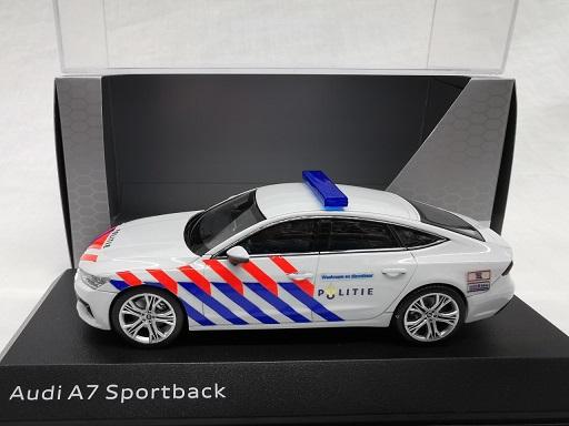 Audi A7 Sportback 2017 ( Nederlandse Politie Omgebouwd ) 1-43 Iscale