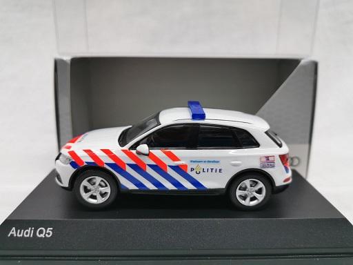 Audi Q5 2016 ( Nederlandse Politie Omgebouwd ) 1-43 Iscale
