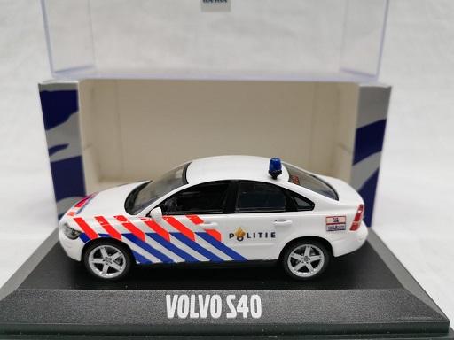 Volvo S40 Limousine ( Nederlandse Politie Omgebouwd ) 1-43 Minichamps