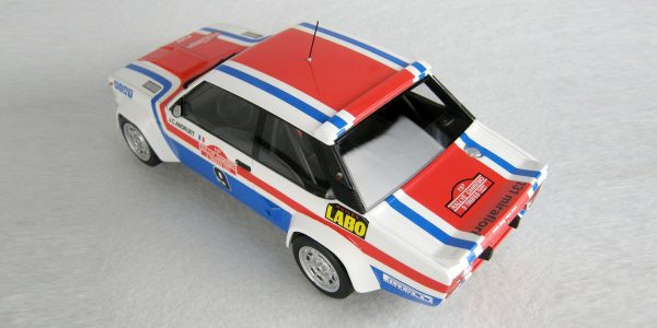 Fiat 131 Abarth Nr# 9 Winner San Remo 1977 J.C.Andruet 1-18 Top Marques