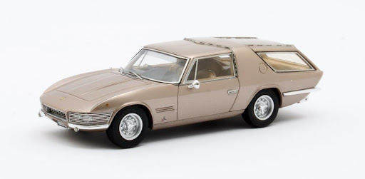 Ferrari 330GT Shooting Brake Vignale 1968 Gold Metallic 1-43 Matrix Scale models Limited 408 pcs.