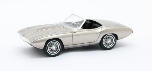 Ford Bordinat Cobra Concept #CSX3001 1965 Zilver Metallic 1-43 Matrix Scale models Limited 408 pcs.
