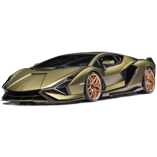 Lamborghini Sian FKP 37 2019 Groengoud metallic 1-18 Burago VANAF DONDERDAG 28 MEI LEVERBAAR !!!