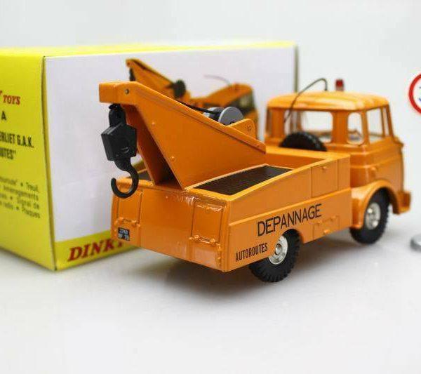 "Berliet Depanneuse G.A.K. ""Autoroutes"" Oranje 1-43 Dinky Toys ( Atlas )"