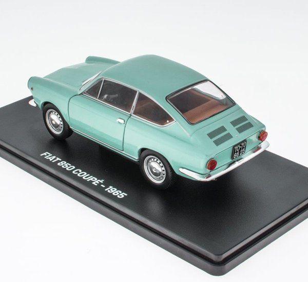 Fiat 850 Coupe 1965 Lichtblauw 1-24 Hachette