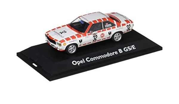 Opel Commodore B GS/E 24h Spa 1973 #32 Rood/ Wit 1/43 Schuco Limited Edition