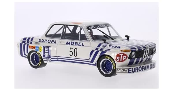 BMW 2002 Gr.2, No.50, DRM 1974 Obermoser GS Tuning, 1-18 BOS Models Limited 1000 Pieces
