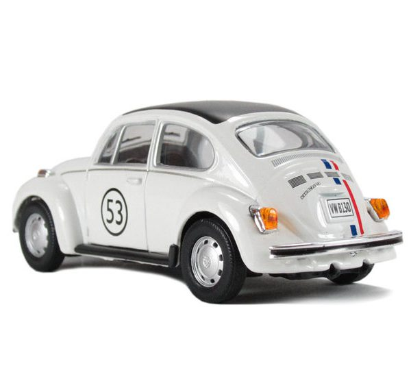 Volkswagen Beetle Herbie 1:43 Cararama
