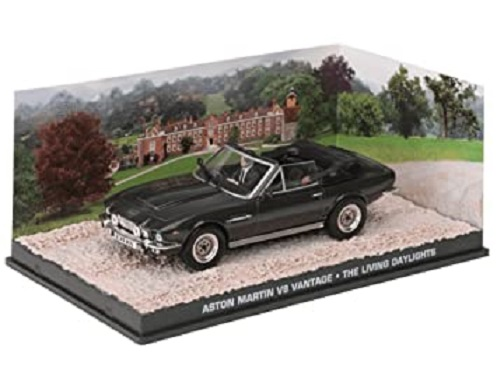 "Aston Martin V8 Vantage James Bond ""The Living Daylights"" 1-43 Altaya James Bond Collection"