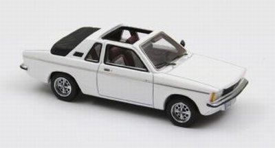 Opel Kadett Aero 1978 Wit 1-43 Neo Scale Models